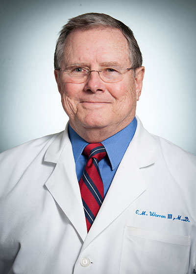 Claude M Warren, III, MD