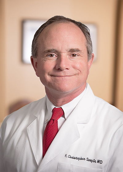 H. Christopher Semple, MD headshot