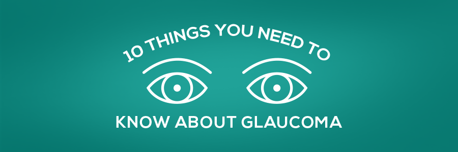 10 thngs you need to know about glaucoma. eyes illustration