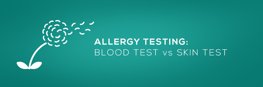 allergy testing: blood test vs skin test