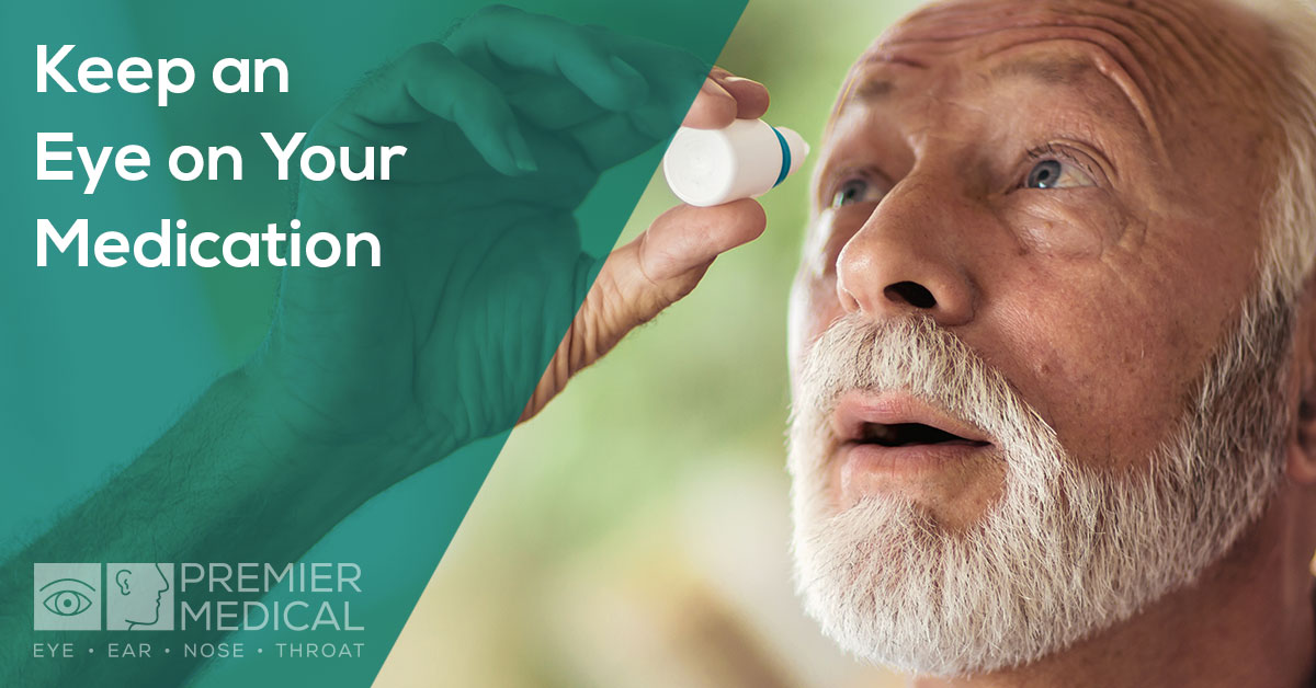 "Keep An ""Eye"" On Your Medication - ways to make sure you do not mix up your eyedrops with harmful materials that are similar in appearance"